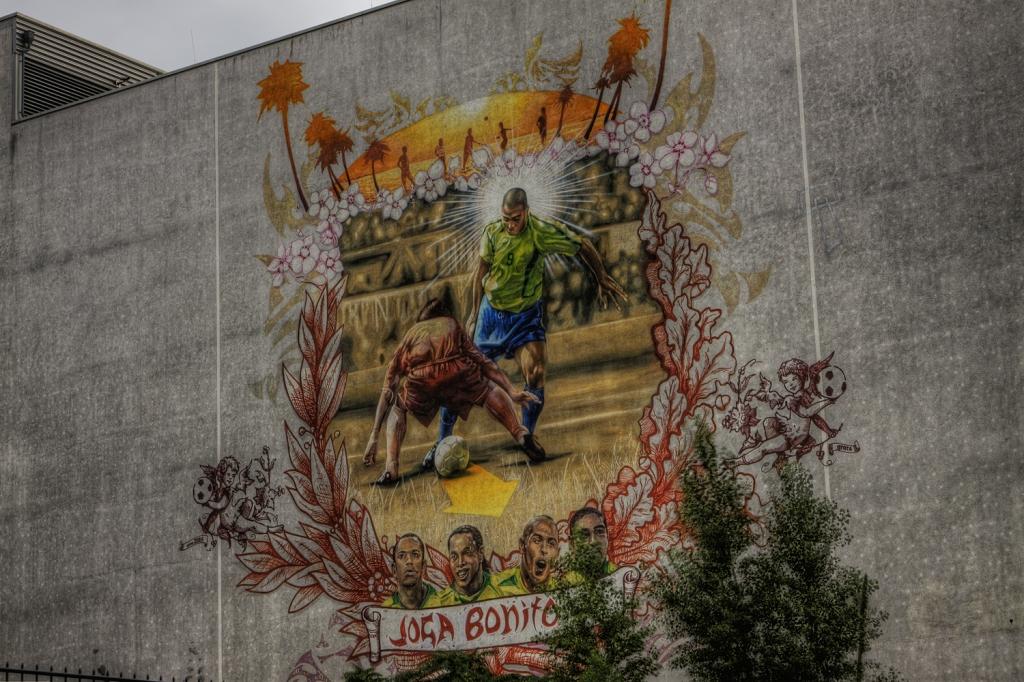 Graffiti: Joga Bonito