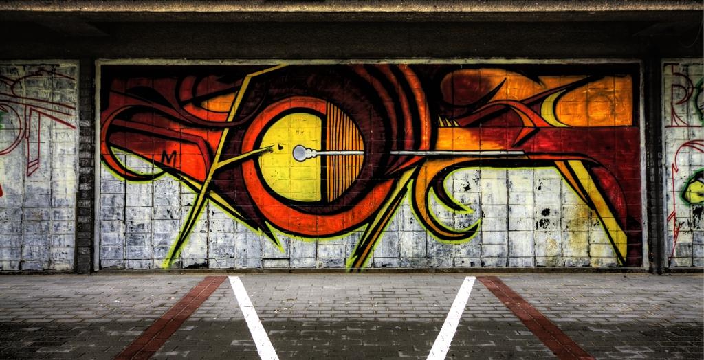 Street art from Gdynia
