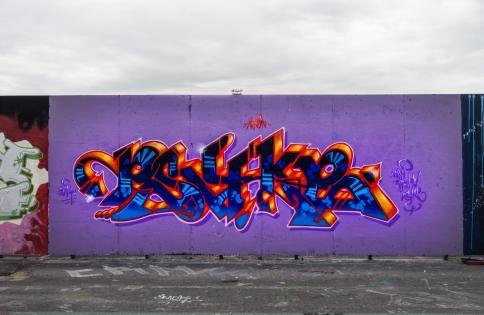 Street Art From Kalasasatama (Summer 2014)
