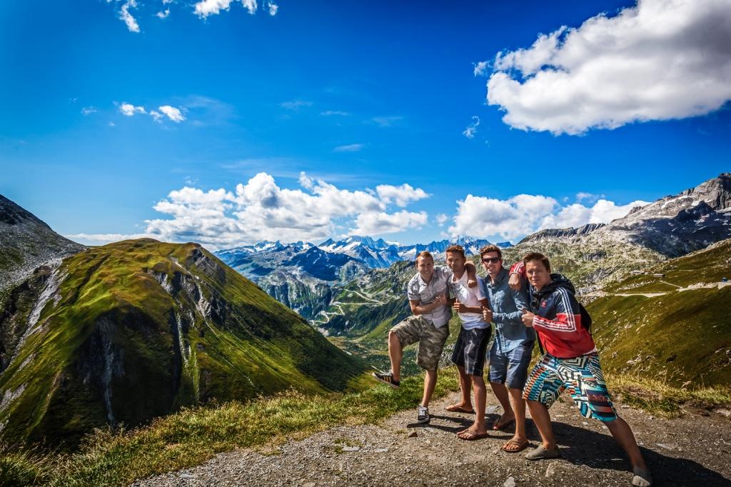Boys in Switzerland