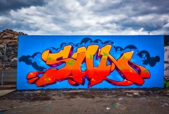 Street Art From Kalasasatama (Summer 2013)