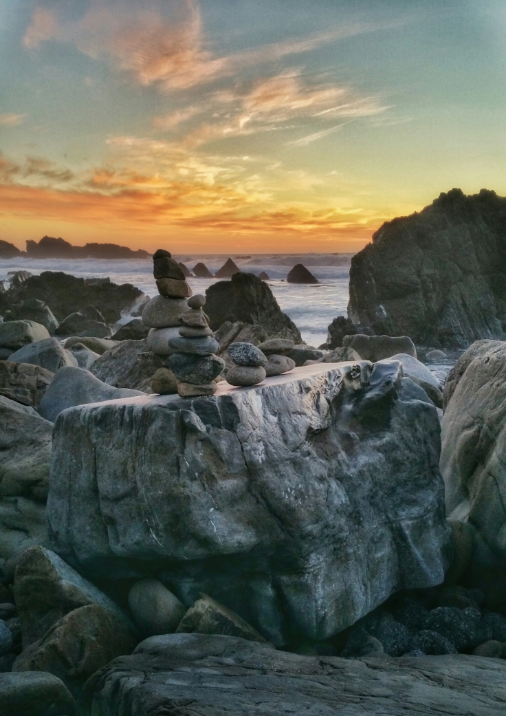 Sunset and Some Rocks (2016)