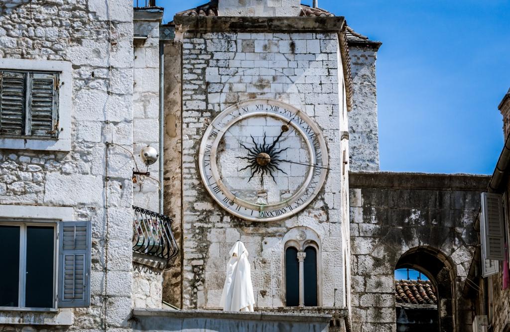 Split's Medieval sundial